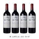 [4本まとめ買い] CH.レオヴィル・ラス・カーズ 1996年 A.O.C.サン・ジュリアン フランス 赤ワイン フルボディ フランスワイン ボルドー フランス赤ワイン カベルネ ソーヴィニヨン 750ml