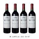 [4本まとめ買い] CH.レオヴィル・ラス・カーズ 1986年 A.O.C.サン・ジュリアン フランス 赤ワイン フルボディ フランスワイン ボルドー フランス赤ワイン カベルネ ソーヴィニヨン 750ml