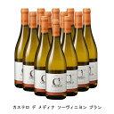 [ 12本 まとめ買い ] カステロ デ メディナ ソーヴィニヨン ブラン ( ボデガス カステロ デ メディナ ) 2019年 スペイン 白ワイン 辛口 750ml×12本の画像