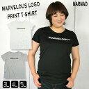 ロゴプリント Tシャツ レディース 大きいサイズ 011-2090 3L 4L 5L オフ グレー ブラック