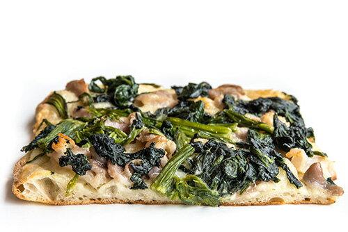 ピッツァ・アルターイオ 福岡県産ほうれん草と自家製塩豚のピザ(14cmx14cm)