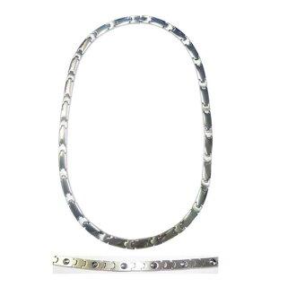 Titanium pure germanium necklace German 24-stone HW9000-3