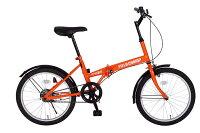 【送料無料】FIELD CHAMP FDB20 20インチ折り畳み自転車 ファミリーに最適の20インチタイヤ採用