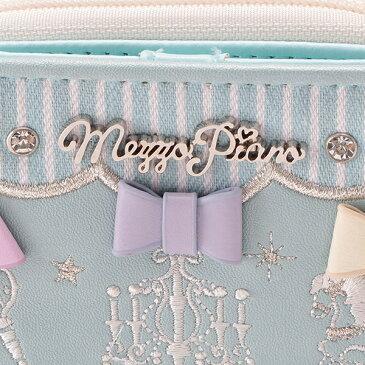 メゾピアノジュニア(mezzo piano junior)ゆめかわリボン財布