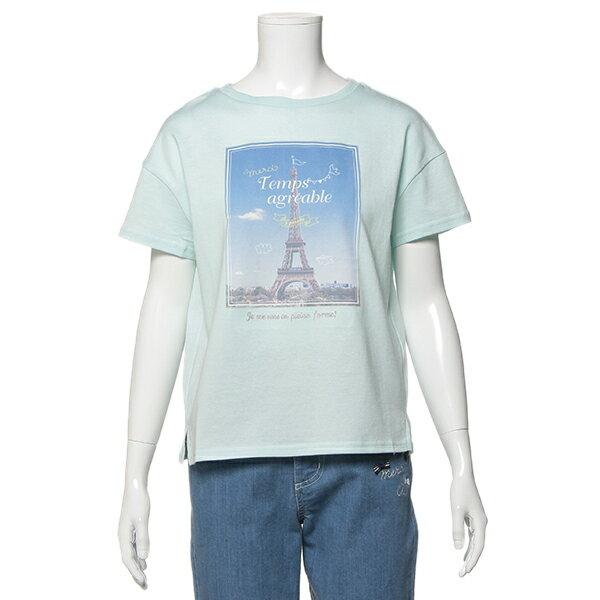 ポンポネットジュニア(pom ponette junior)【トドラーサイズ向け】エッフェル塔グラフィックTシャツ