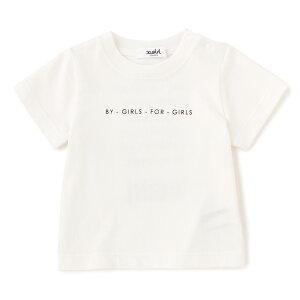 6e946dcedd070 エックスガール ステージス(X-girl Stages)メッセージロゴTシャツ