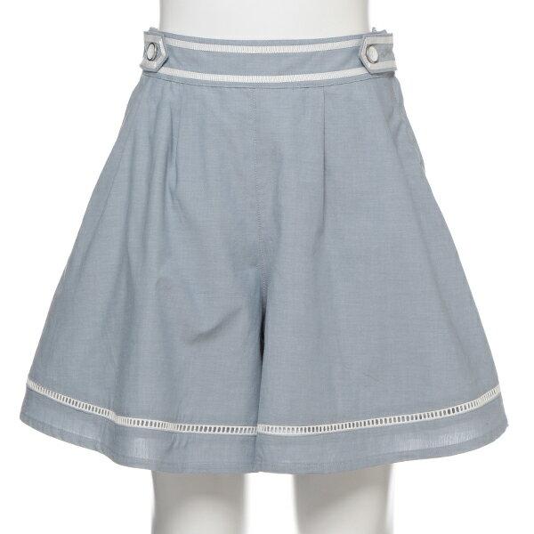 ポンポネットジュニア(pom ponette junior)裾ラインキュロットスカート
