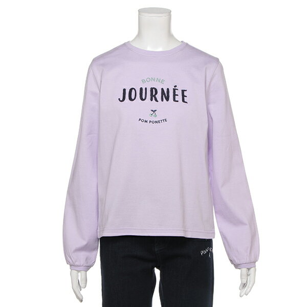 ポンポネットジュニア(pom ponette junior)フリル衿つきアソートTシャツ