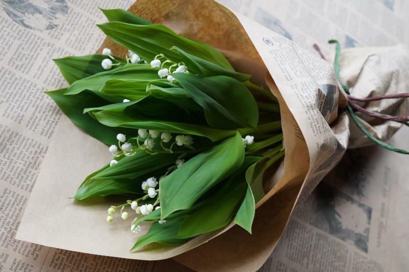 幸福を呼ぶ花「スズラン」 花束