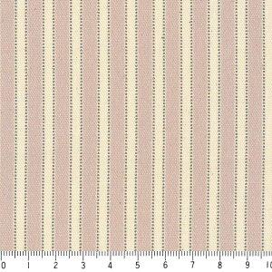 マルチストライプ柄 8025-sp Snowprimrose collection malti stripe ボーダー柄 ストライプ 生地 布 綿100% 生成りオックス生地 カルトナージュ生地 toile de jouy