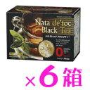 『ナタ・デ・トック ブラックティー 6箱』【ナタデトック】【ナタデトックティー】【ダイエットサポート茶】 【10P03Feb04】