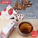 【送料無料・メール便】なつめチップとお茶のお試しセット(なつ