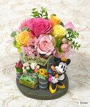 プリザーブドフラワーディズニーキャラクターアレンジお花屋さん誕生祝い、母の日、父の日、敬老の日、結婚祝い