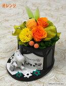 プリザーブドフラワームーミンキャラクターアレンジムーミンのお出かけ誕生祝い、母の日、父の日、敬老の日、結婚祝い