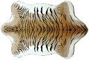 ハンサ【HANSA】リアルぬいぐるみジャガード織り生地使用フロアラグ トラ柄