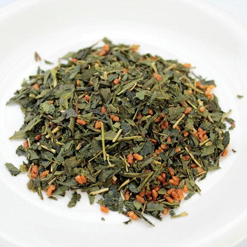 中井通夫のこだわり有機玄米茶120gメール便可/有機宇治茶日本茶緑茶コシヒカリ/