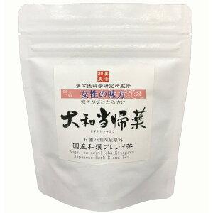 Wakan Bikka混合茶Yamato Tokiha 1.5g×6P提供邮件服务/由6种国产成分监督, 由Kampo医学科学研究所监督Chen皮肤/生姜/人参/血液循环/月经不调/当归/草药/补品