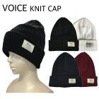 ビーニーVOICE[VO141]Thinsulateスノーボードスキーウィンタースポーツ帽子ニット帽メンズレディースユニセックス