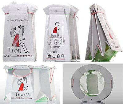 トロン (TRON) 座れる携帯トイレ トロン TRON 簡易トイレ/防災グッズ/渋滞/アウトドア/子供用【あす楽対応】【ナチュラルリビング】
