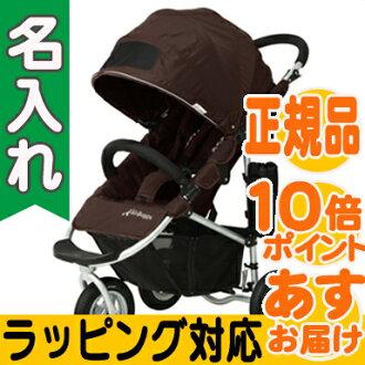 空氣的傢伙可哥可哥 AirBuggy (安全氣囊巧克力) 咖啡嬰兒小推車、 越野車、 三輪嬰兒推車嬰兒推車 / a 類型