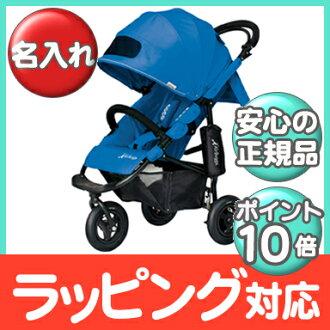 空氣的傢伙可哥制動器模型 AirBuggy 可哥 BrakeModel (安全氣囊巧克力) 藍色嬰兒小推車、 越野車、 三輪嬰兒推車嬰兒推車 / 類型