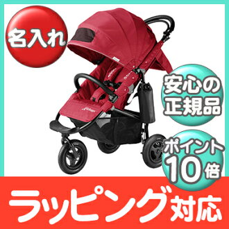 空氣的傢伙正常店空氣的傢伙可哥制動 EX AirBuggy 可哥制動櫻桃紅色嬰兒推車 / 越野車 / 三輪嬰兒推車嬰兒推車 / 類型