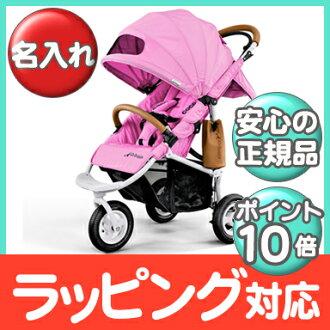 空氣的傢伙可哥制動模型 AirBuggy 可哥 BrakeModel 和諧集合酷粉紅色嬰兒小推車、 越野車、 三輪嬰兒推車嬰兒推車 / 類型