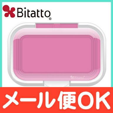 \全商品ポイント16倍/【メール便送料無料】ビタットプラスクリア(Bitatto+Clear)ウェットシートのフタピンクワンプッシュ【ナチュラルリビング】