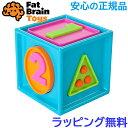 形合わせ おもちゃ 【正規品】【ラッピング無料】 スマーティ キューブ smarty cube ファットブレイントイズ おもちゃ 形合わせ ブロック 知育玩具 fat brain toy【あす楽対応】【ラッキーシール対応】