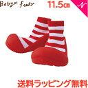 \全商品16倍/Baby feet (ベビーフィート) カジュアルレッド 11.5cm ベビーシューズ ベビースニーカー ...