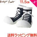 \全商品16倍/Baby feet (ベビーフィート) スニーカーズブラック 11.5cm ベビーシューズ ベビースニー...