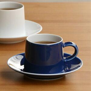【白山陶器】【波佐見焼】【M型シリーズ】【M型カップ&ソーサー】【ブルー】ナチュラル69 結婚式の引き出物やギフトに! 食器 おしゃれ 内祝い M型シリーズ M型カップ&ソーサー ブルー 北欧 食器 カップ&ソーサー
