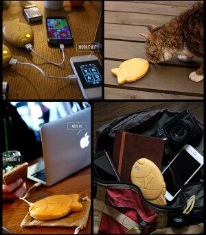 スマートフォン用モバイルバッテリー【そそげ!たいやきくん】iPhone87バッテリー/iPhone87バッテリー/iPhone87Plusバッテリー/iPhone6s6バッテリー/iPhone6s6Plusバッテリー/スマートフォン/スマホ/モバイル/バッテリー/充電機/充電器