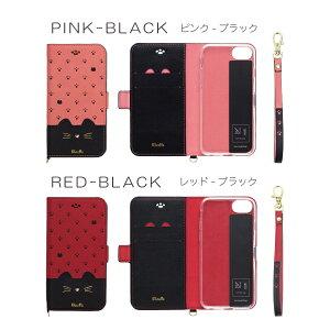 iphone8ケースiphone7ケース手帳型iphone6sアイフォン8ケースiphone8plusケースiphone7plusiphone6splus手帳型iphonexスマホケース猫minette