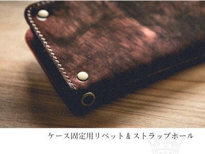 iPhone8ケースiPhone7ケース手帳型本革カバーブランドメンズアイフォン87ブッテロbutteroレザーシルバーゴールドスマホケース日本製Rocx