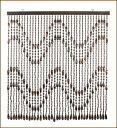 【そろばんの街】小野市の技術が生んだ伝統の品!【木珠のれん】1本1本が職人の手作りで暖かみ...