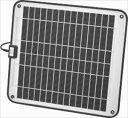 KIS ソーラーパネル 15W 12V / BT432S-MRN[正規品/日本語の説明書付き/無料保証2年(電池を除く)]