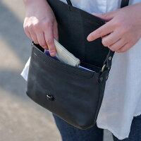 violetteヴィオレットレザーショルダーバッグ(ブラック)バッグレディースレザーバッグ斜めがけ斜めがけバッグレディース本革バッグ・小物・ブランド雑貨バッグレディースバッグショルダーバッグ・メッセンジャーバッグ