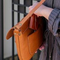 violetteヴィオレットレザーショルダーバッグ(ブラウン)バッグレディースレザーバッグ斜めがけ斜めがけバッグレディース本革バッグ・小物・ブランド雑貨バッグレディースバッグショルダーバッグ・メッセンジャーバッグ