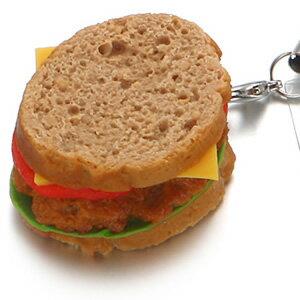 サンドイッチ 携帯ストラップ