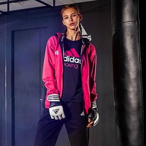 アディダス(adidas)サウナスーツ(日本向けサイズ)シルバーハイロンレディースADIRYUSA04_LA