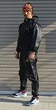 在庫処分特価!アディダス(adidas)サウナスーツ(日本向けサイズ)ジッパー・フード付 男女兼用 ADIRYUSMUJ