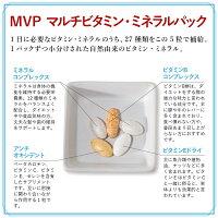 【エントリーでポイント10倍】【送料無料】MVP(マルチビタミン・ミネラルパック)30日分