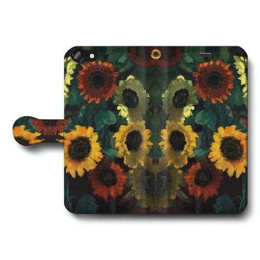 スマホケース 全機種対応 手帳型 ノルデ Glowing Sunflowers Galaxy ケース ギャラクシー あいふぉん 絵画 人気 iPhone11 HUAWEI P30 lite