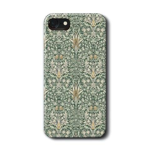 スマホケース 多機種対応 ハードケース ウィリアムモリス28 IPhone11Promax ケース SONY 絵画 レトロ 人気 あいふぉん11 ファーウェイ アクオスR3 iPhoneXR おしゃれ かわいい