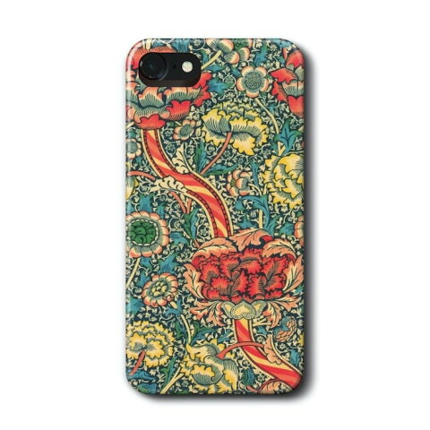 スマホケース 多機種対応 ハードケース ウィリアム モリス ワンドル iPhone6sPlus ケース 絵画 人気 あいふぉん Aquos Google Pixel スマホカバー iPhon11 iPhon11Pro iPhoneXR 名画 名作絵画