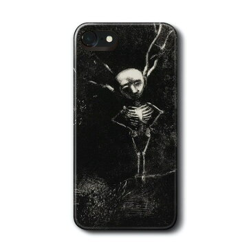 スマホケース 多機種対応 ハードケース オディロン ルドン Figure Appeared iPhone7 ケース iPhone8 絵画 レトロ 人気 Xperia Ace Galaxy A30 S10 S9 S8 iPhon11 iPhon11Pro ハードカバー 名画 名作絵画