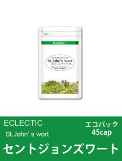 When ECLECTIC St John's wort (Hypericum perforatum) FFD a capsule-type Eco Pack 45 cap