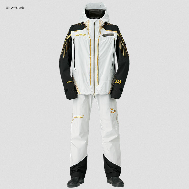ダイワ(Daiwa) DR-1008T トーナメント ゴアテックス パックライト レインスーツ XL ライトグレー 08350098