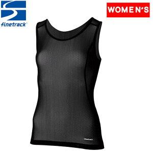 ファイントラック(finetrack) ドライレイヤークール タンクトップ Women's S BK FUW0823